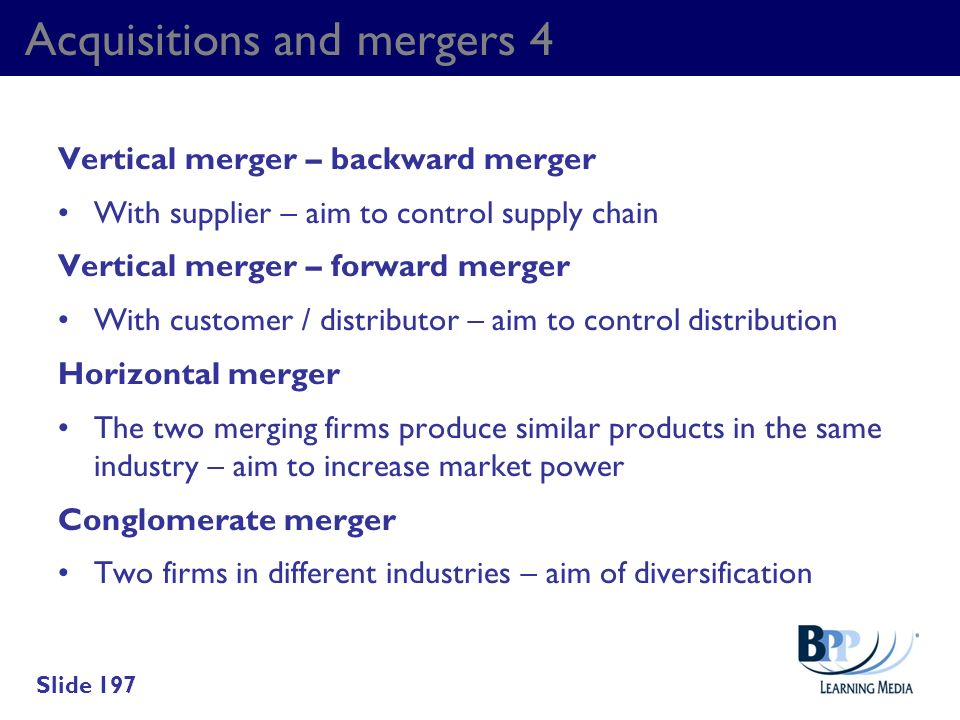 Acquisitions and mergers 4