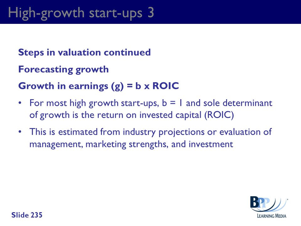 High-growth start-ups 3