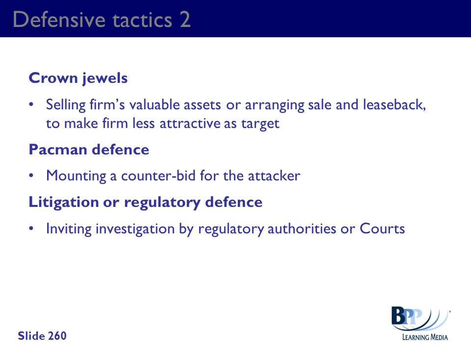 Defensive tactics 2 Crown jewels