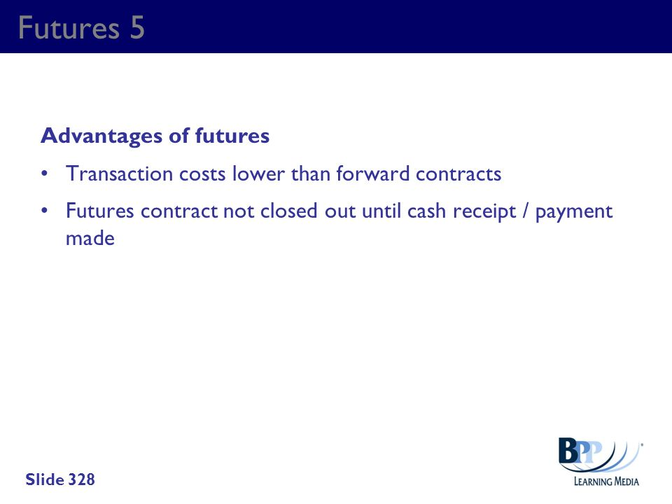 Futures 5 Advantages of futures