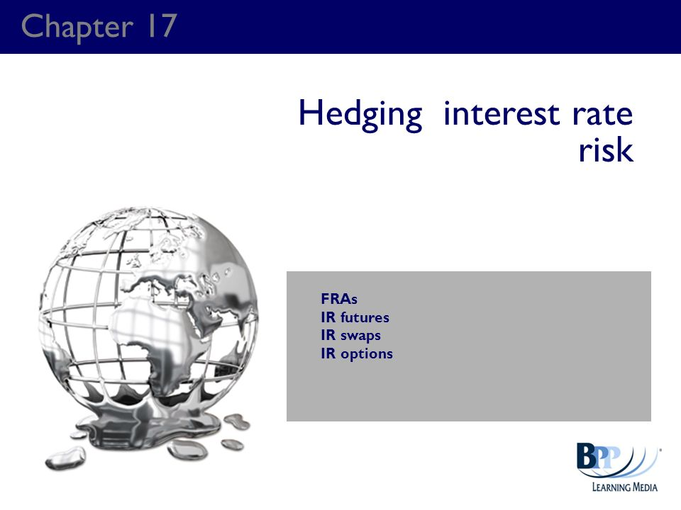 Hedging interest rate risk