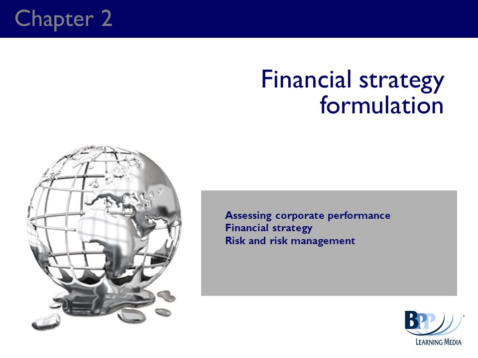 Financial strategy formulation