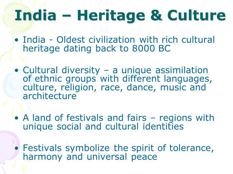 India – Heritage & Culture