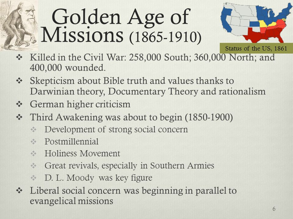 Golden Age of Missions (1865-1910)