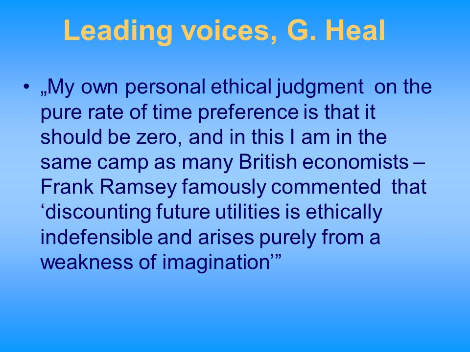 Leading voices, G. Heal