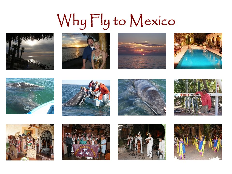 Why Fly to Mexico
