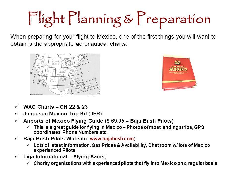 Flight Planning & Preparation