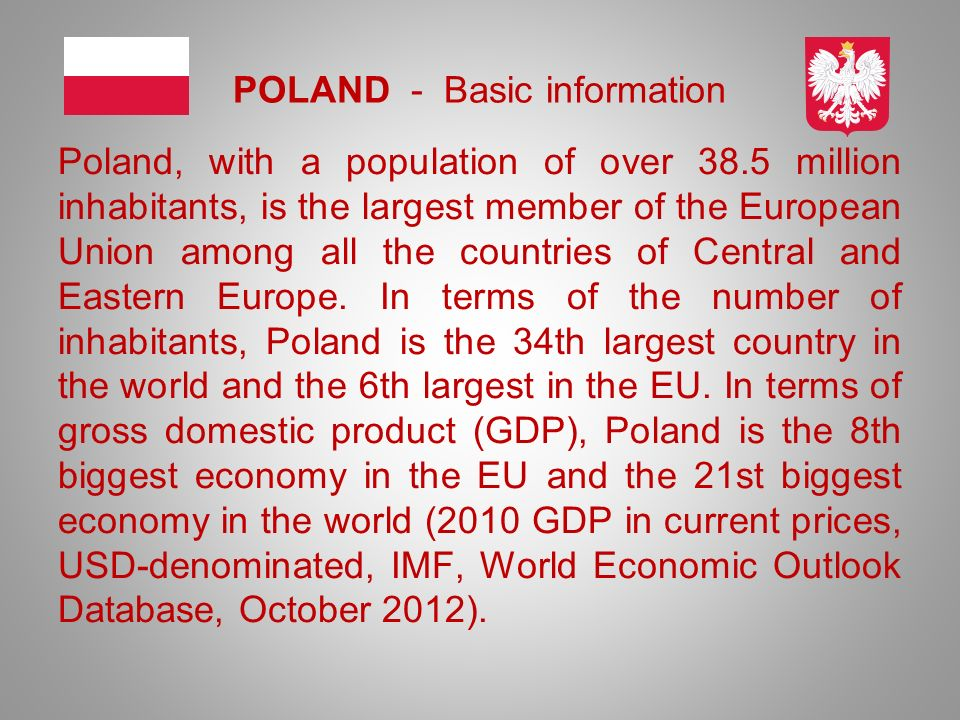 POLAND - Basic information