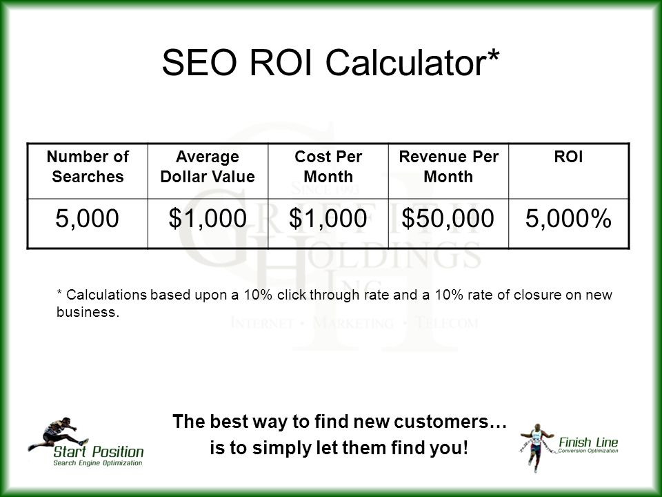 The best way to find new customers… is to simply let them find you!