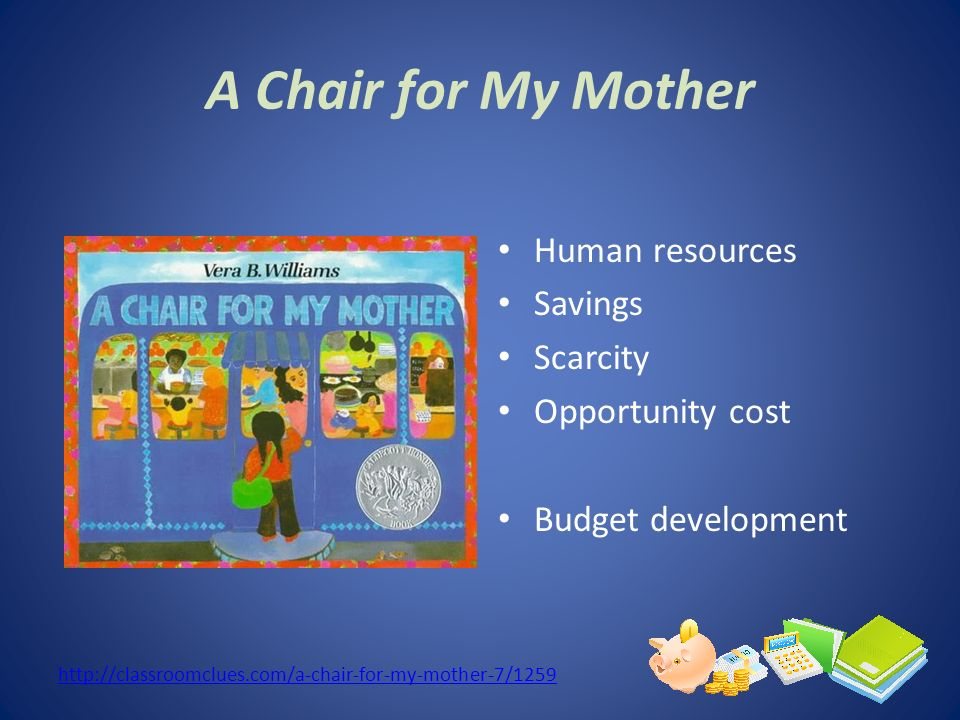 A Chair for My Mother Human resources Savings Scarcity