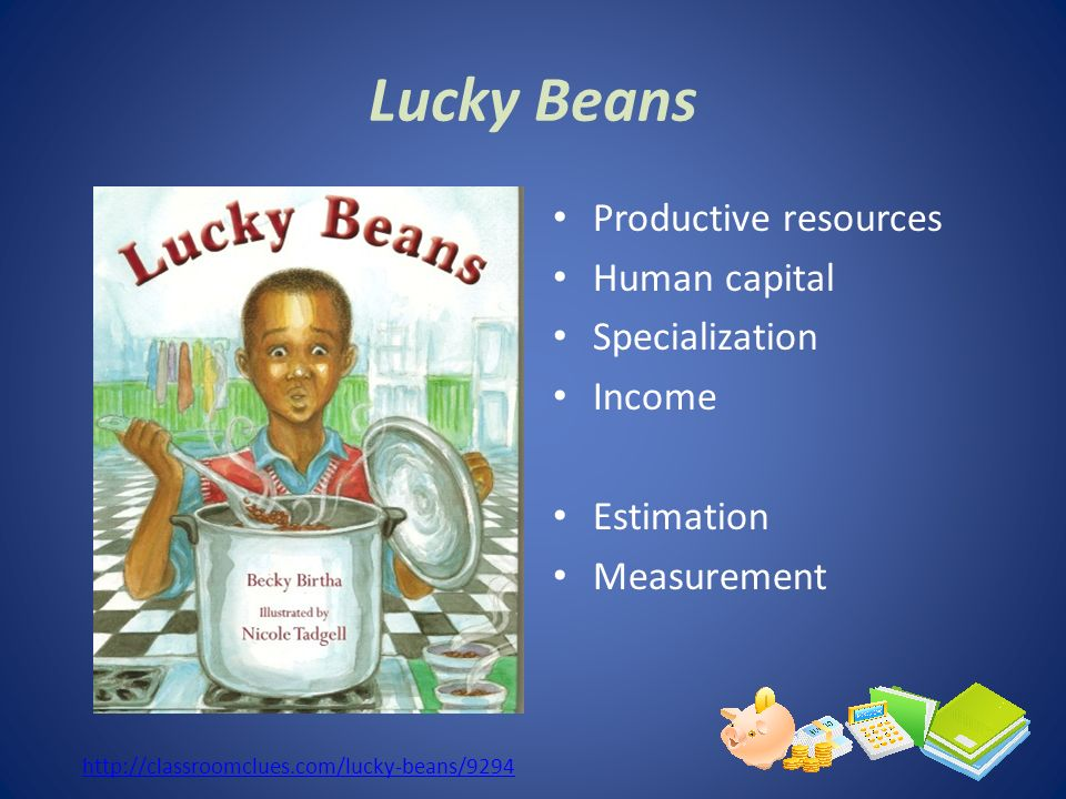 Lucky Beans Productive resources Human capital Specialization Income