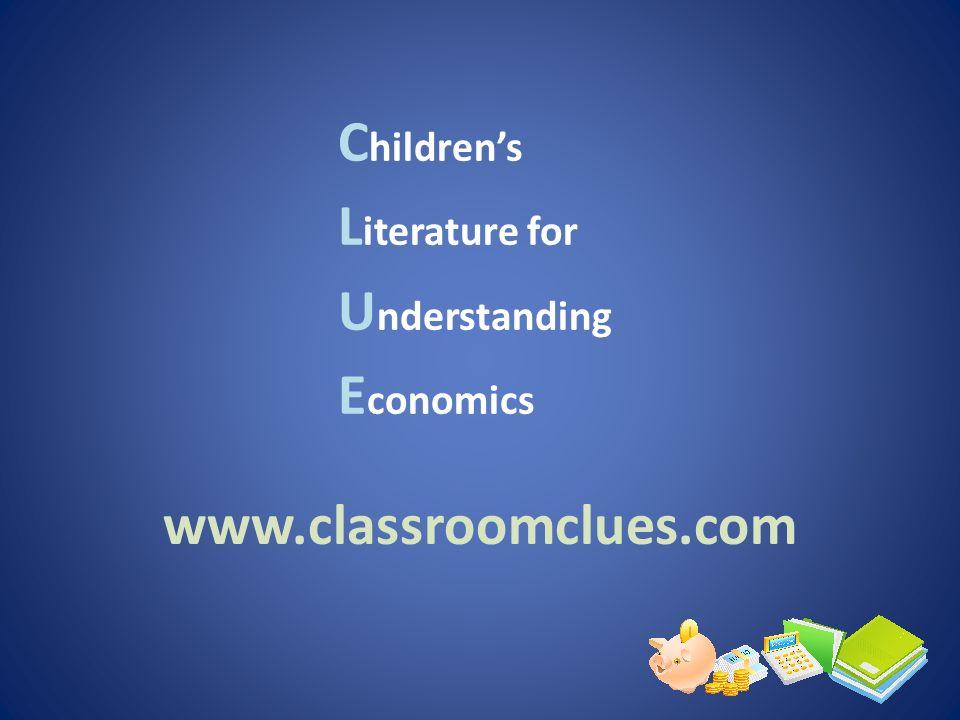 Children's Literature for Understanding Economics
