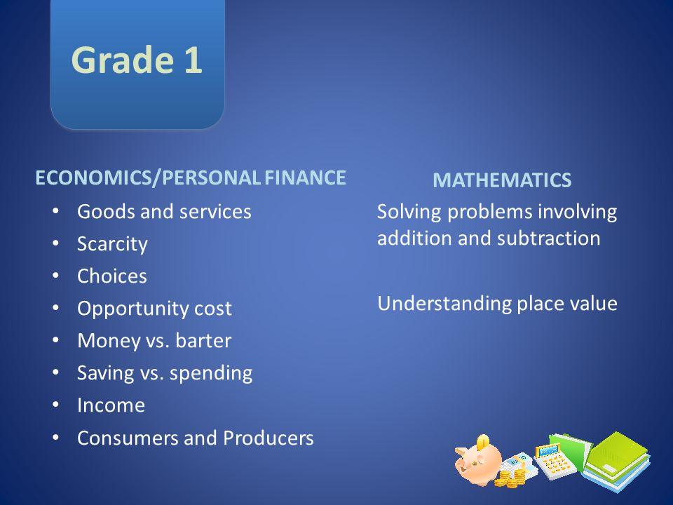 ECONOMICS/PERSONAL FINANCE