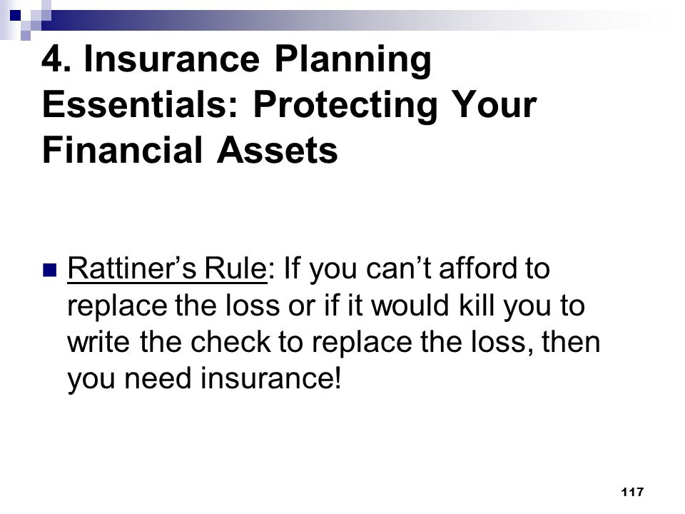 4. Insurance Planning Essentials: Protecting Your Financial Assets