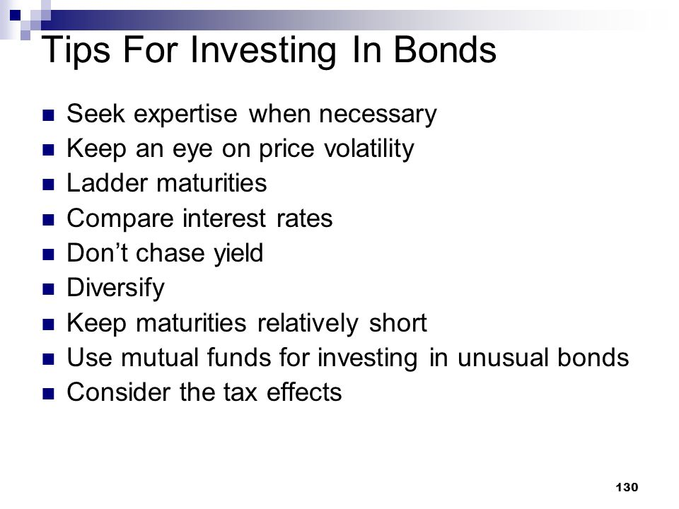 Tips For Investing In Bonds