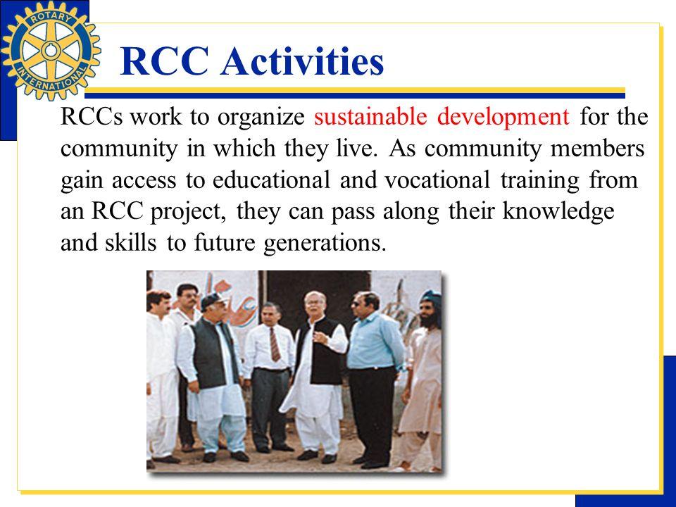 RCC Activities