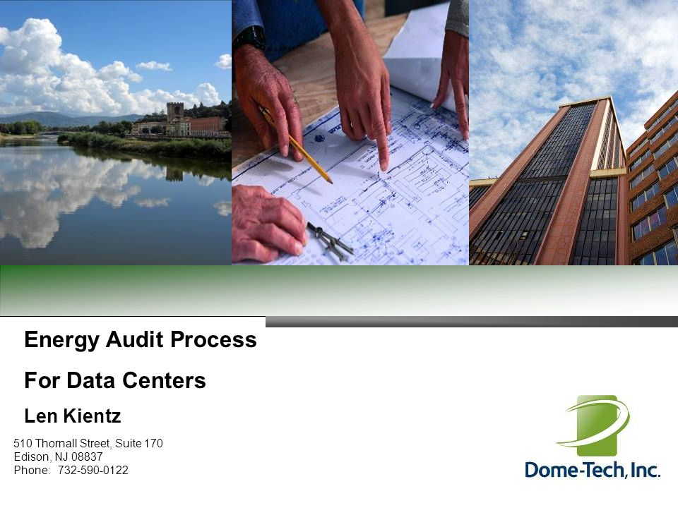 Energy Audit Process For Data Centers Len Kientz