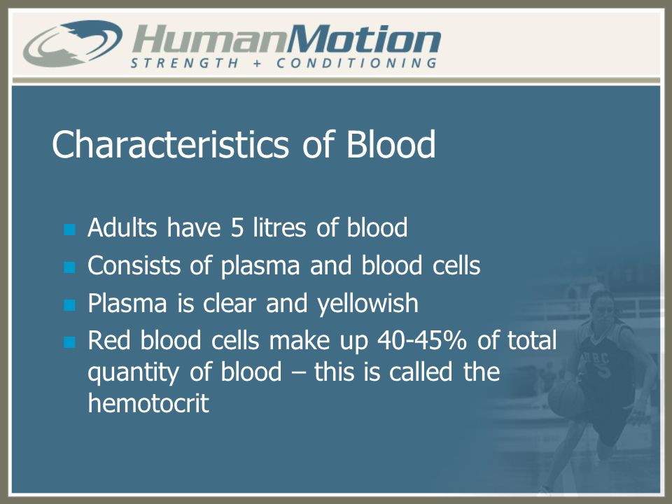 Characteristics of Blood