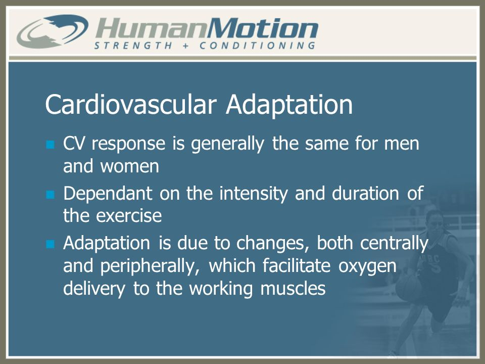 Cardiovascular Adaptation