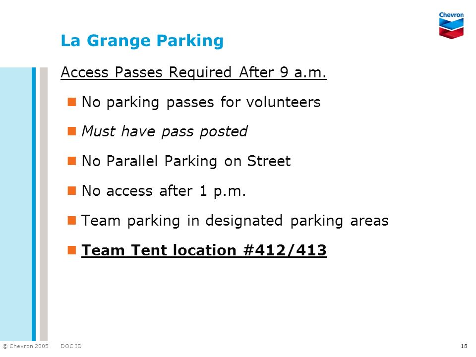 La Grange Parking Access Passes Required After 9 a.m.