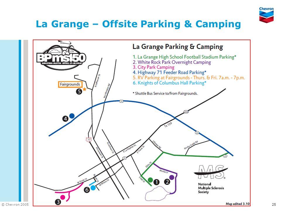 La Grange – Offsite Parking & Camping