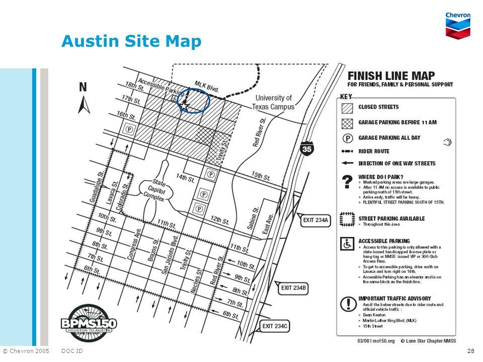Austin Site Map