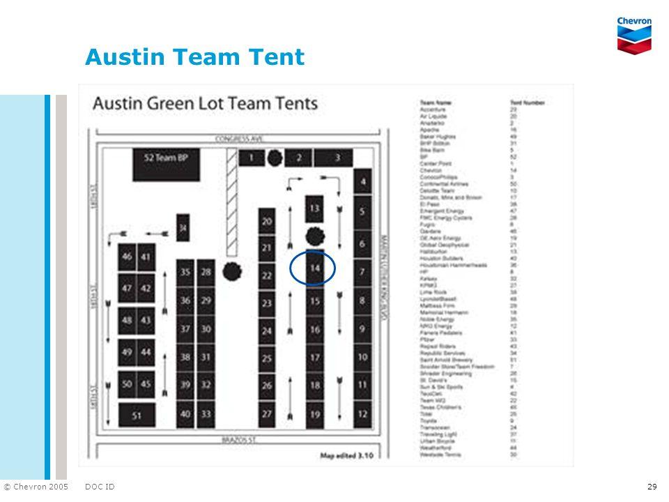 Austin Team Tent