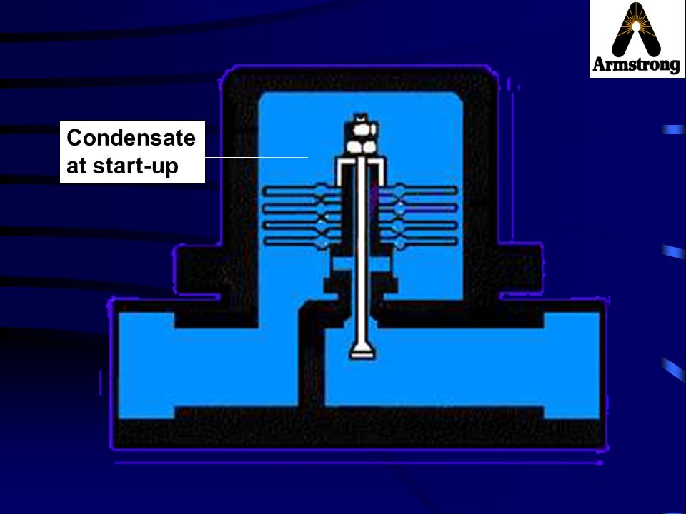 Condensate at start-up