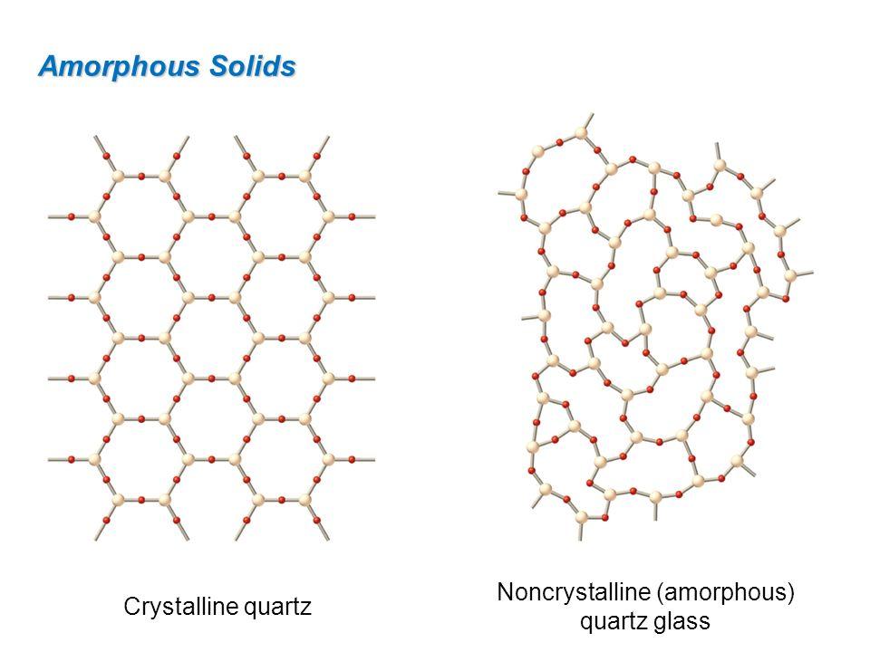 Noncrystalline (amorphous) quartz glass
