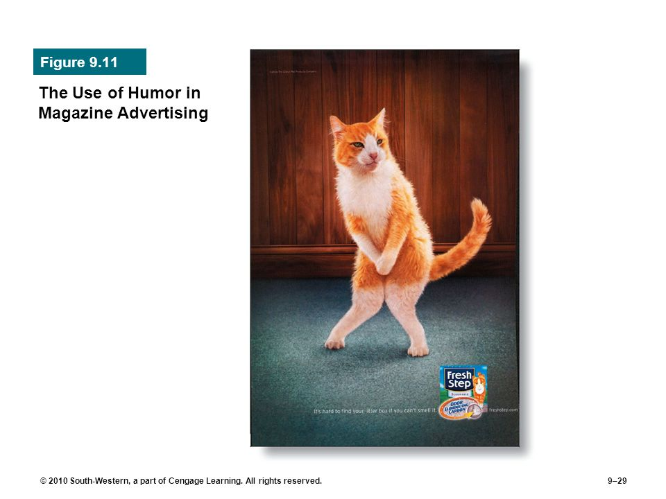 The Use of Humor in Magazine Advertising