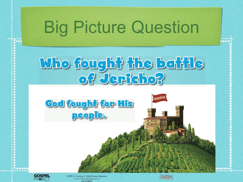 Big Picture Question