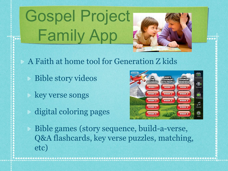 Gospel Project Family App