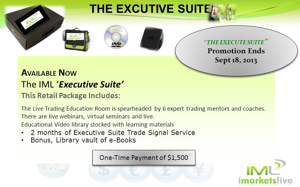THE EXECUTE SUITE Promotion Ends