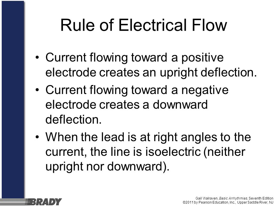 Rule of Electrical Flow