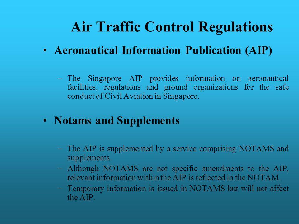 Air Traffic Control Regulations