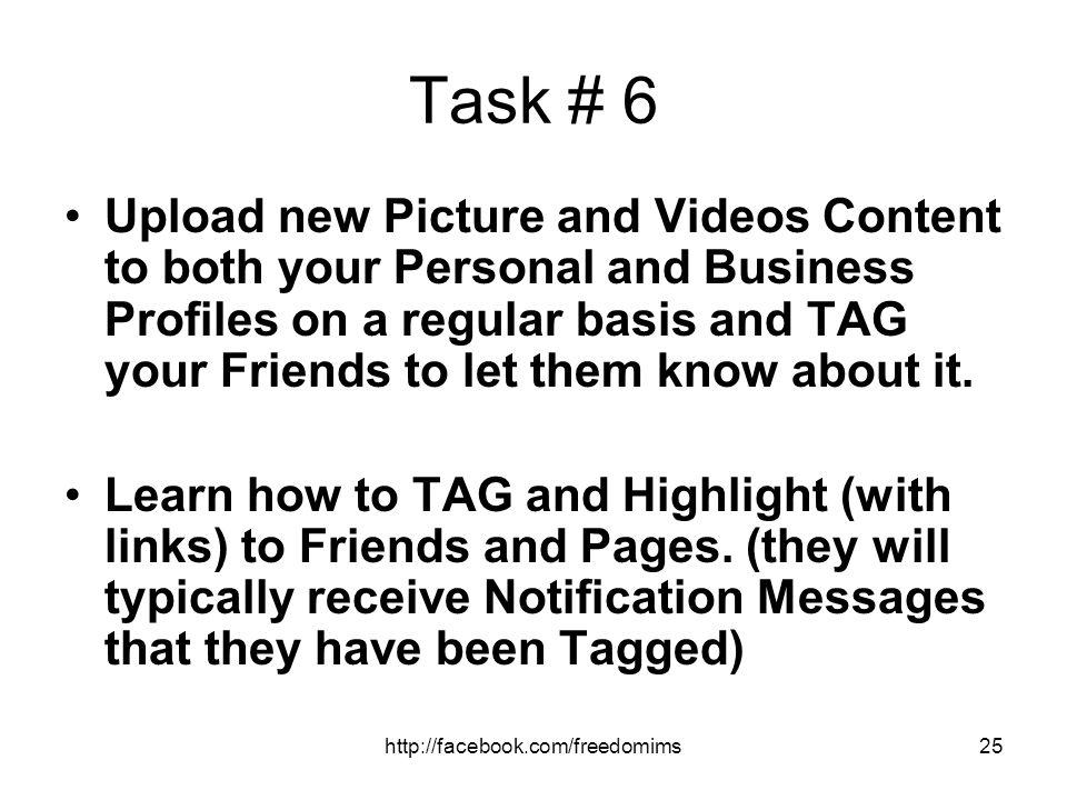 Task # 6