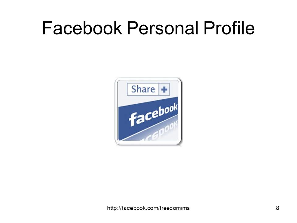 Facebook Personal Profile