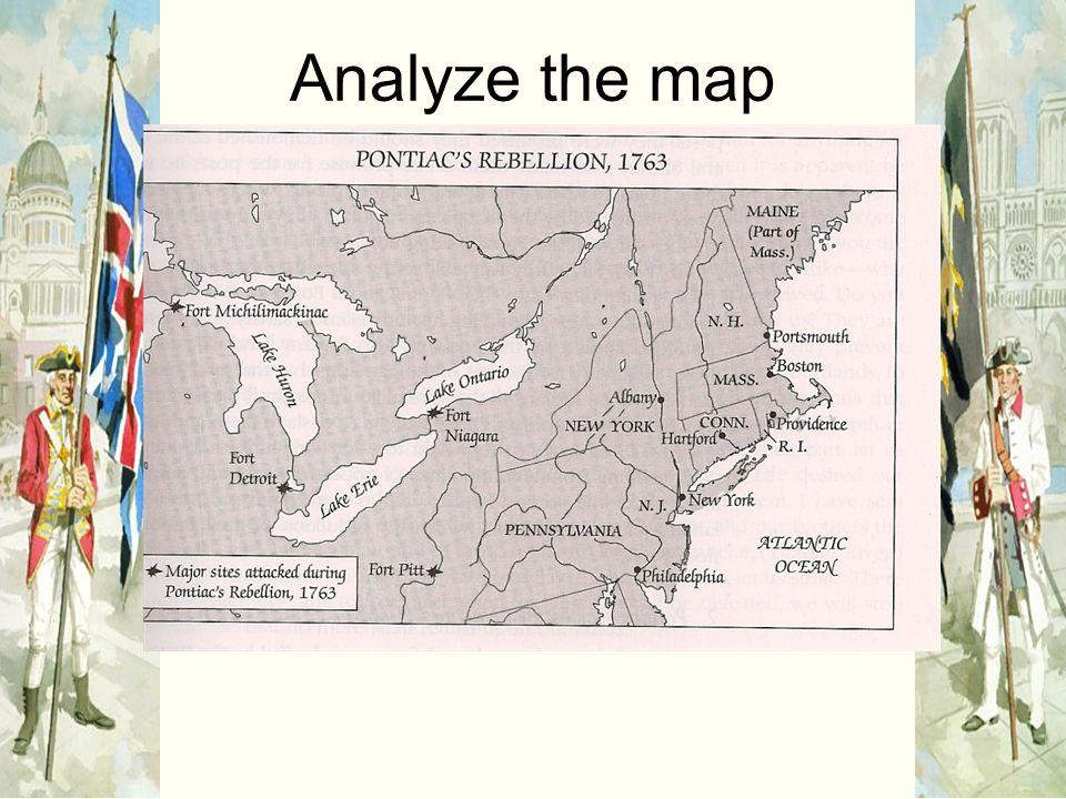 Analyze the map