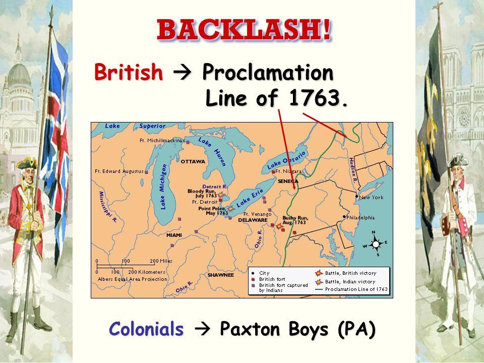 Colonials  Paxton Boys (PA)