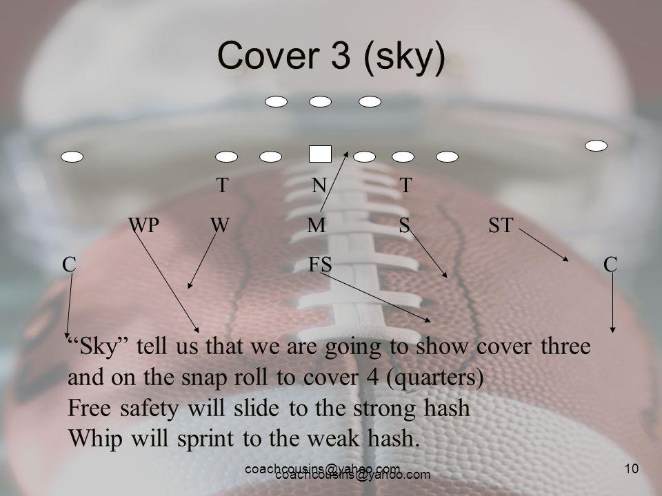 Cover 3 (sky) T N T. WP W M S ST.