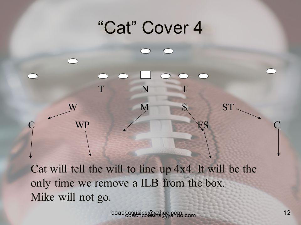 Cat Cover 4 T N T. W M S ST.