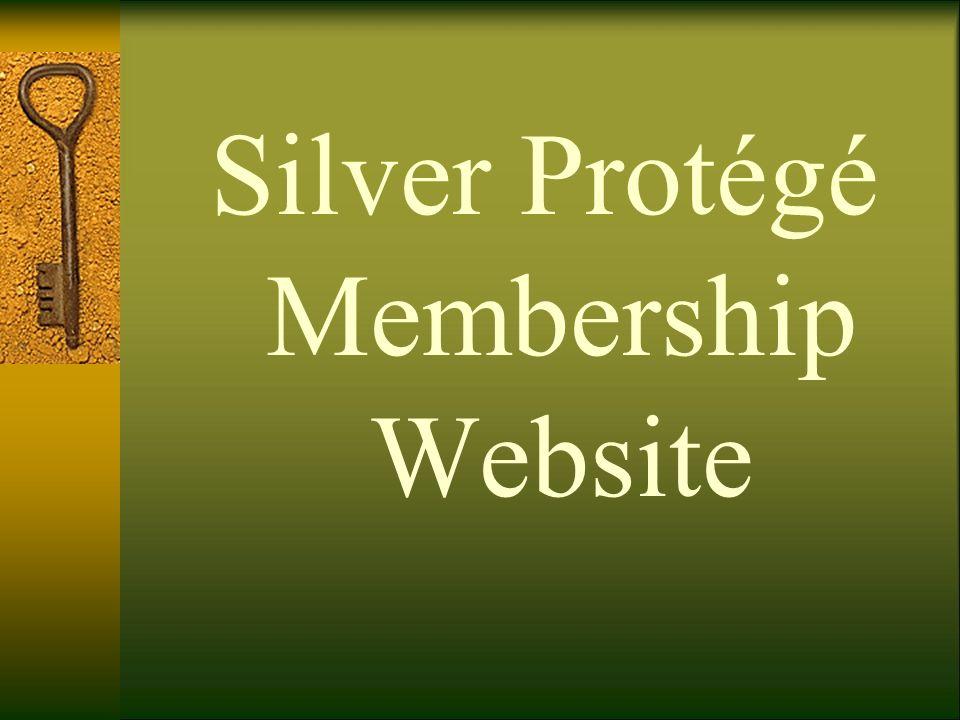 Silver Protégé Membership Website