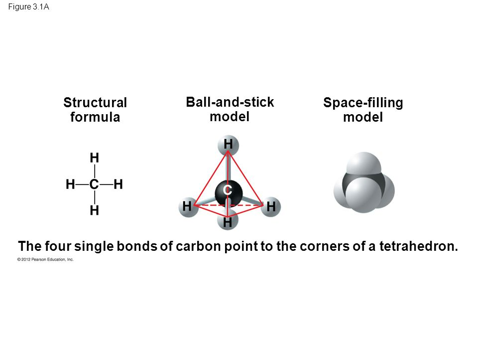 Structural formula Ball-and-stick model Space-filling model