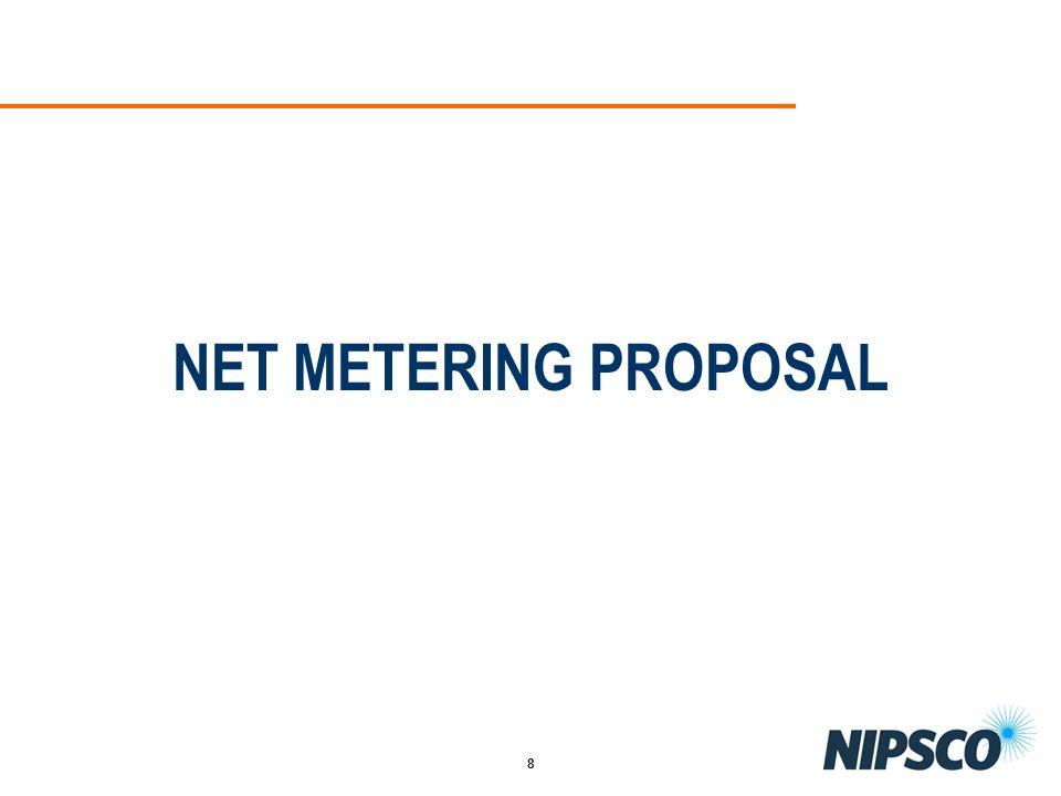 NET METERING PROPOSAL