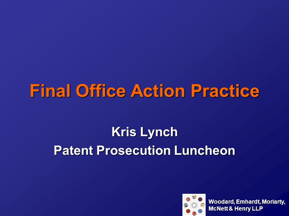 Final Office Action Practice