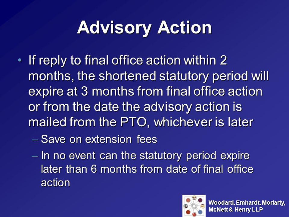 Advisory Action