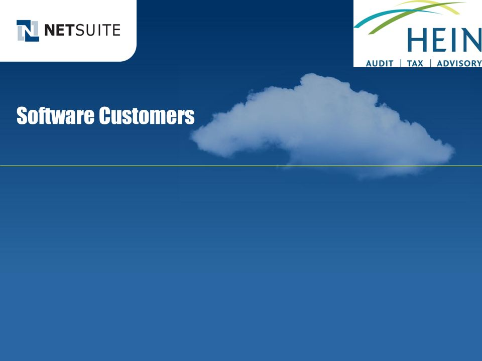 Software Customers