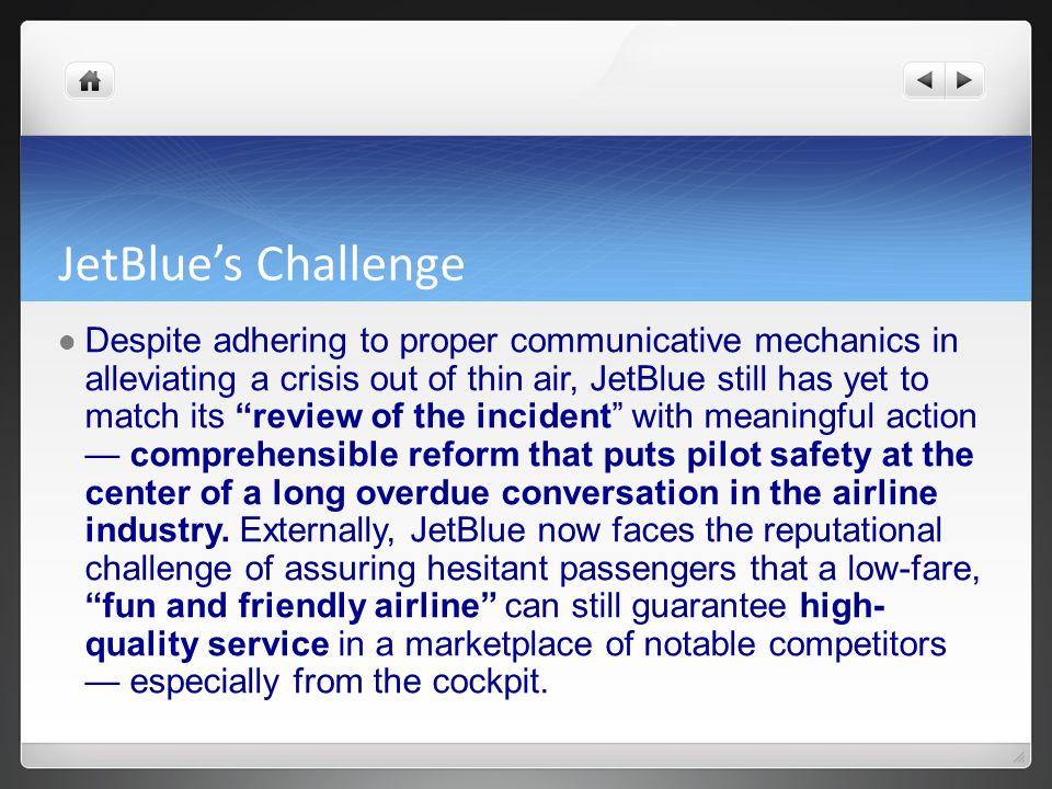 JetBlue's Challenge