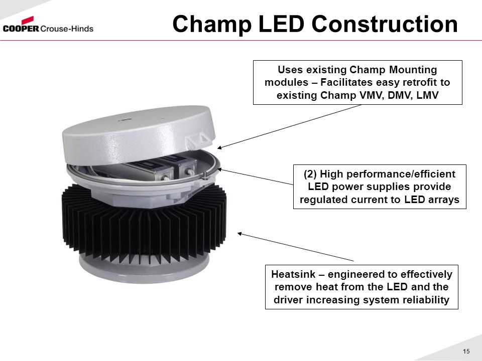 Champ LED Construction