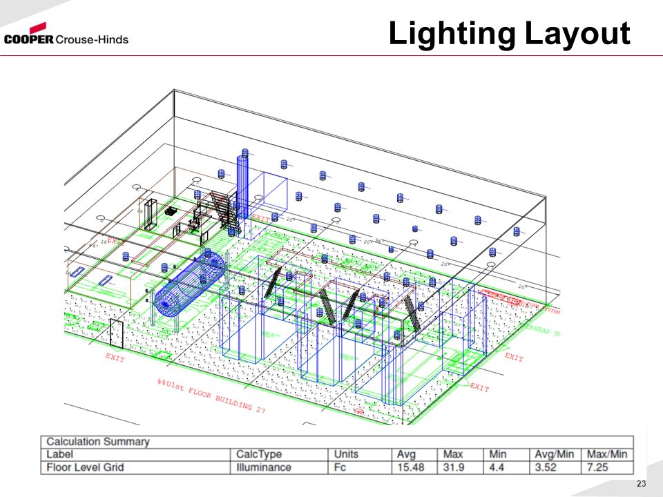 Lighting Layout